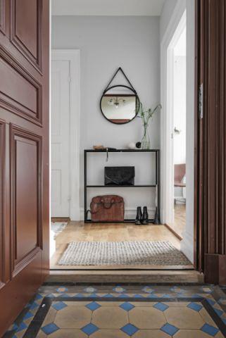 温馨舒适北欧风格走廊装修效果图_土拨鼠2017装修图片大全