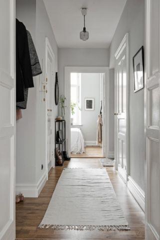 走廊北欧风格装潢效果图