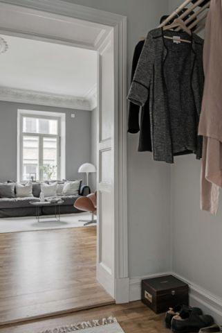 温馨舒适简欧风格走廊装修效果图_土拨鼠2017装修图片大全