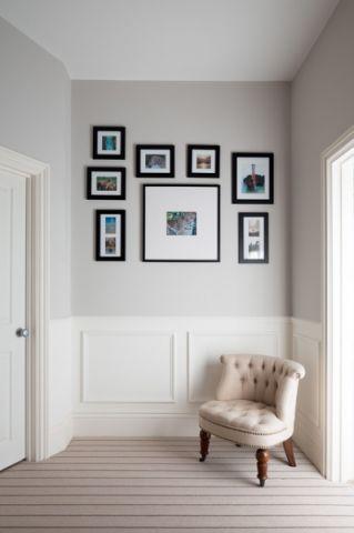 简洁优雅美式风格走廊装修效果图_土拨鼠2017装修图片大全