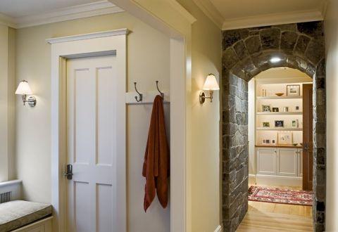 干净舒适美式风格走廊装修效果图_土拨鼠2017装修图片大全