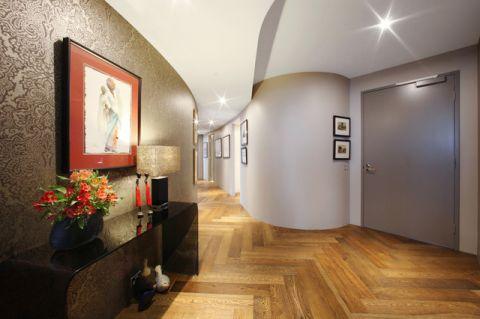 温馨舒适现代风格走廊装修效果图_土拨鼠2017装修图片大全