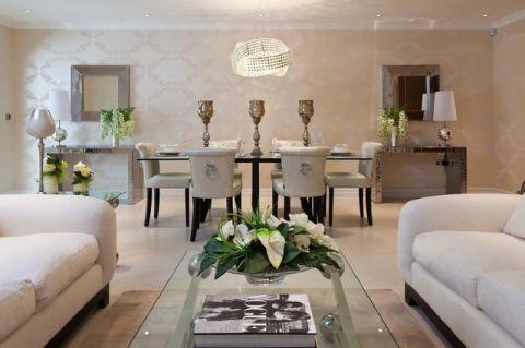 品质生活现代风格客厅装修效果图_土拨鼠2017装修图片大全