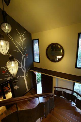 楼梯现代风格装潢设计图片