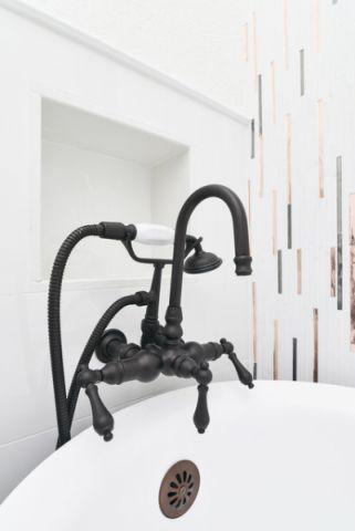 浴室细节混搭风格效果图