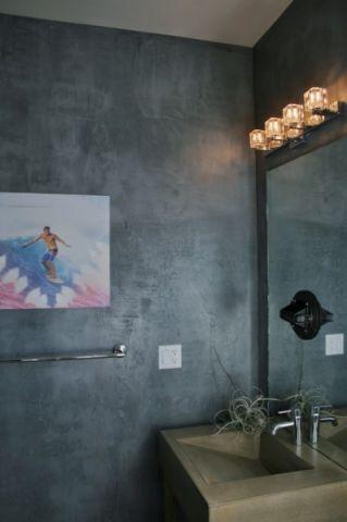 浴室细节混搭风格装潢效果图