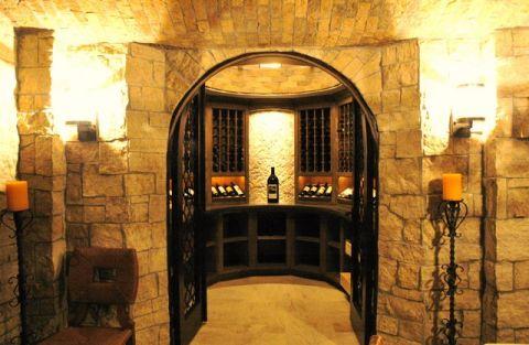 酒窖门厅简欧风格装修效果图