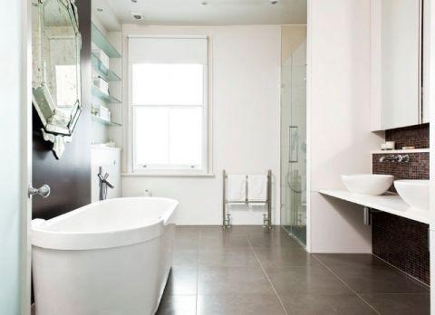 卫生间走廊现代风格装饰图片