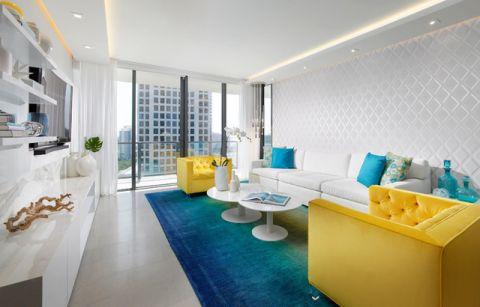 客厅背景墙现代风格装修效果图