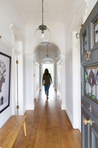 玄关走廊简欧风格装修设计图片