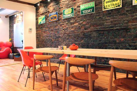 餐厅背景墙混搭风格装修设计图片