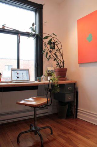 书房窗台混搭风格装潢设计图片