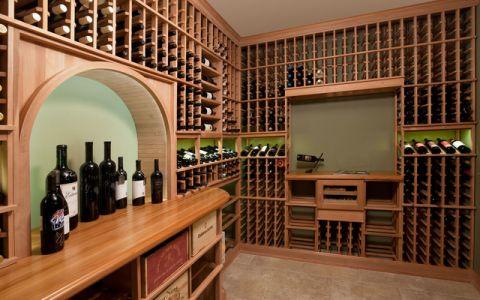 厨房酒窖美式风格装饰设计图片
