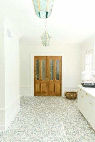 卧室走廊美式风格效果图