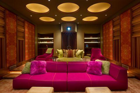 干净舒适现代风格客厅装修效果图_土拨鼠2017装修图片大全