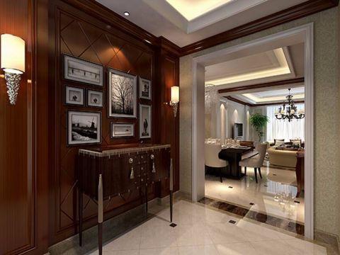 玄关门厅美式风格装饰效果图