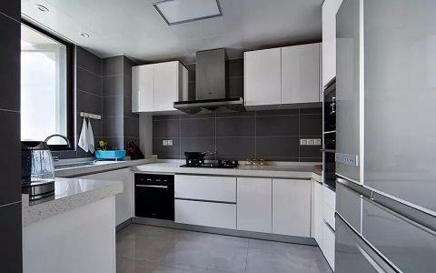 厨房橱柜简约风格装潢设计图片
