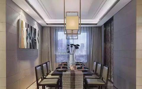 餐厅吊顶简约风格装修效果图
