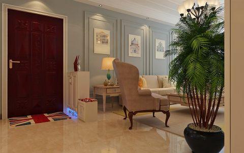 玄关门厅简欧风格效果图