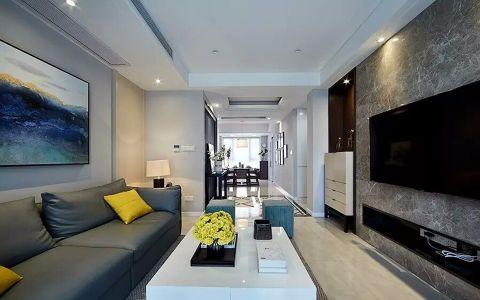 金尧华府105平米三室两厅现代简约风格装修效果图