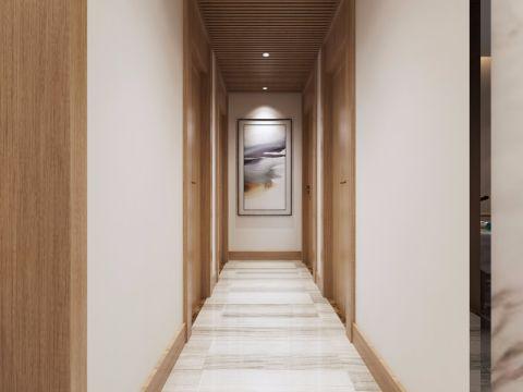 玄关走廊中式风格装修图片