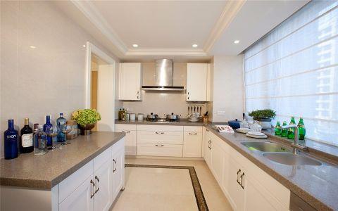 厨房窗台美式风格装饰设计图片