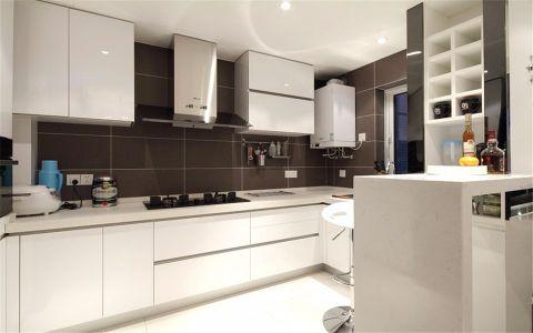厨房吊顶现代简约风格装潢设计图片