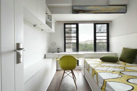 万科公园大道120平欧式二居室装修效果图