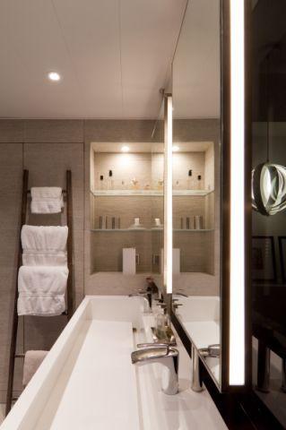 卫生间细节简约风格装潢设计图片