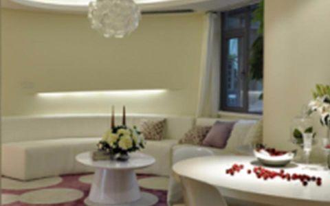 紫沙金苑89平现代简约风格二居室装修效果图