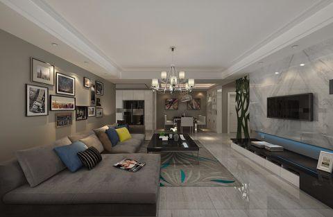 现代简约的风格是当下较为流行的装饰风格,这是人们对于现代生活的快节奏繁忙的装修效果这是我们对于家中简练舒适的表达,家应该是较为舒适的,大气与品质是设计十分注重的因素,从设计的每一个方面都可以体现。