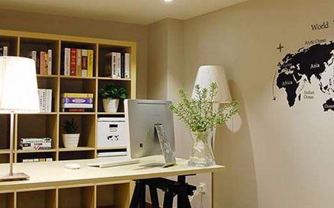 书房细节现代简约风格装潢设计图片