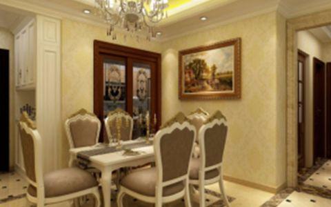 餐厅门厅现代简约风格装潢图片