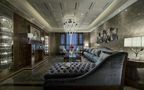 华庭南苑120平方新古典风格三居室装修效果图