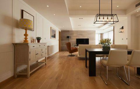 大华西溪风情130平简约二居室装修效果图
