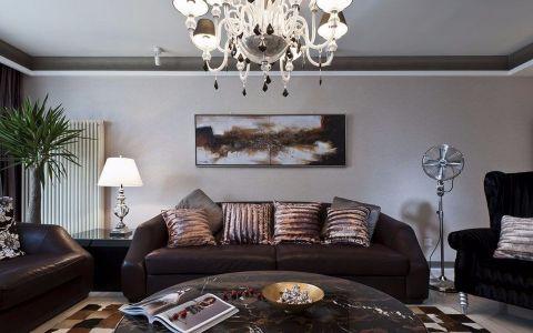莱蒙城155平简欧风格三居室装修效果图