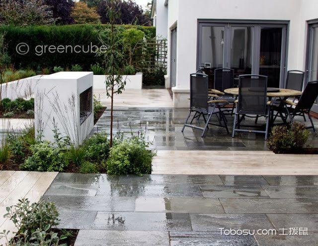 阳台米色细节现代风格装饰效果图