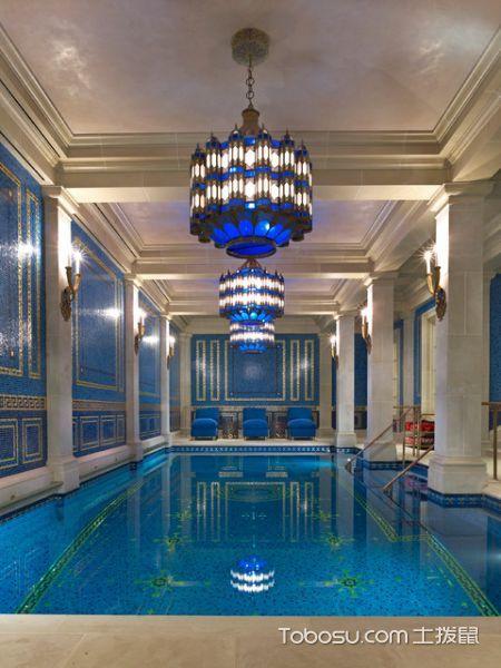 2020美式玄关图片 2020美式泳池装修设计图片