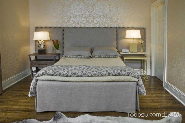 卧室灰色茶几混搭风格装修效果图