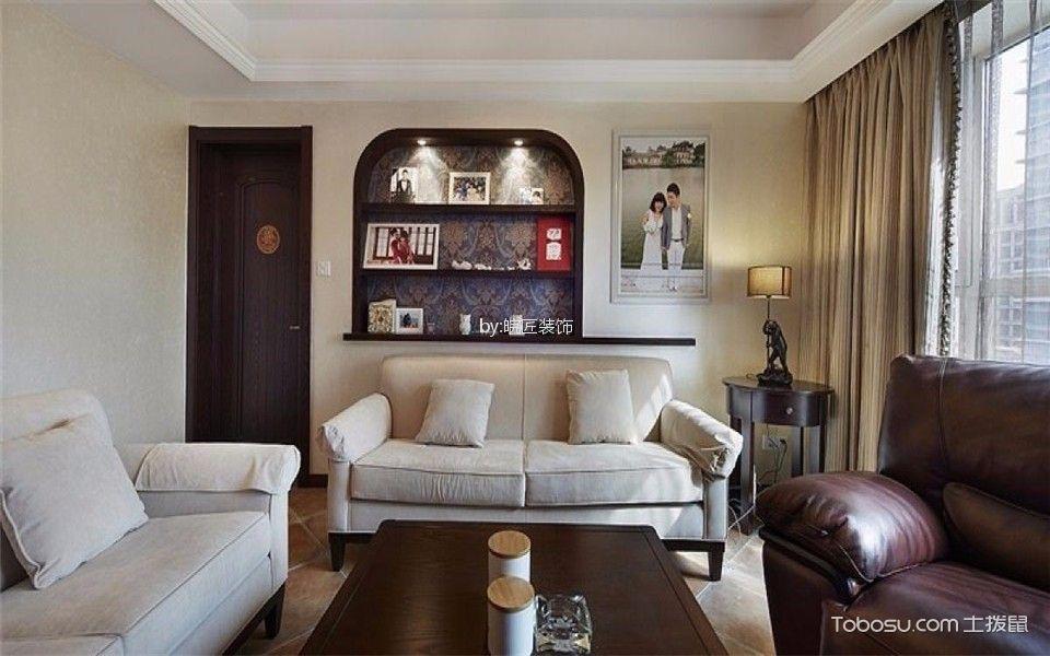 海洲景秀世家120平新古典三居室装修效果图