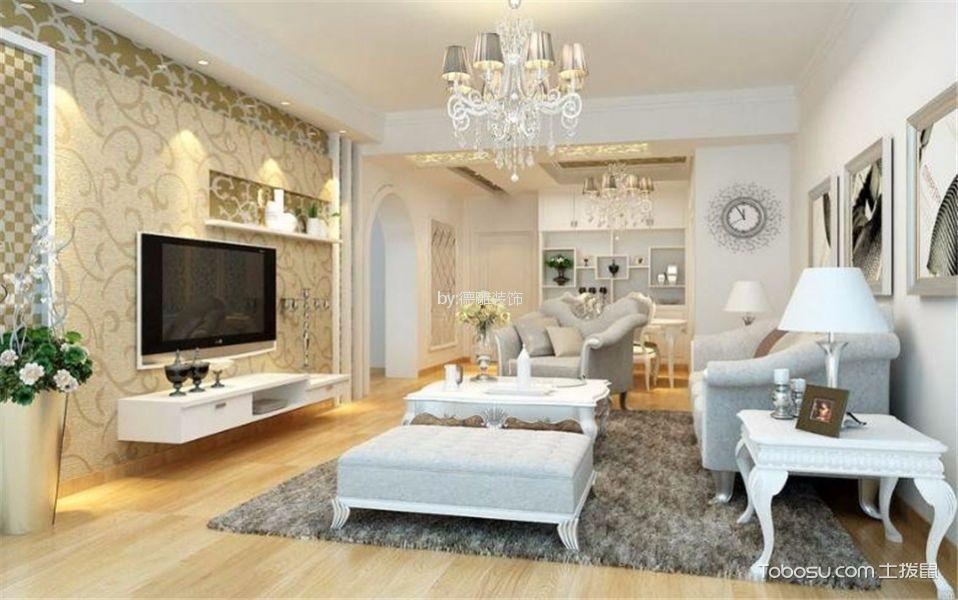 名城紫金轩欧式风格装修案例