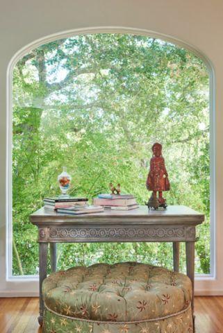 书房窗台美式风格装潢效果图
