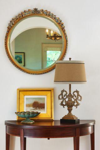 卧室茶几美式风格装饰图片