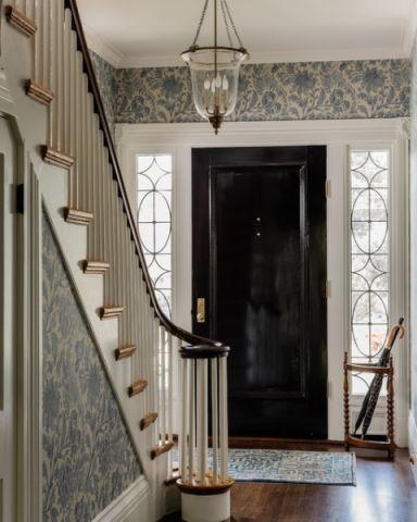 玄关门厅美式风格装修效果图