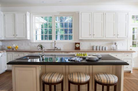 厨房厨房岛台美式风格装修设计图片