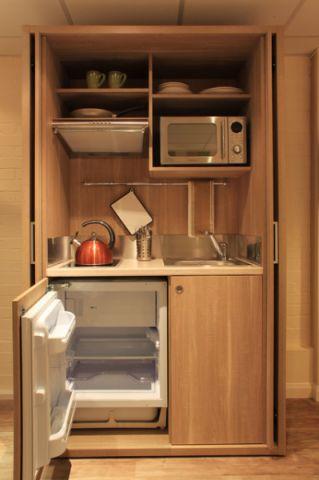 餐厅米色细节现代风格装潢效果图
