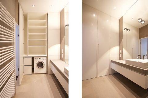 卫生间白色细节现代风格装饰效果图