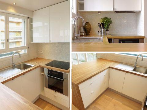 厨房米色细节现代风格装修图片