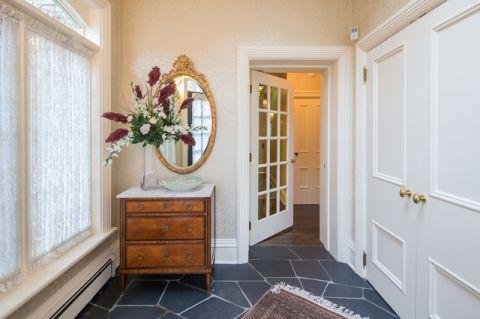 玄关窗帘简欧风格装潢设计图片