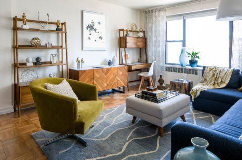 客厅窗台现代风格装潢效果图